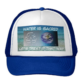 water is sacred hat