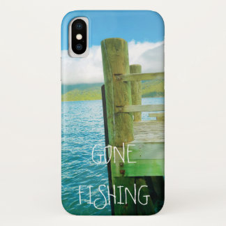 Water   Jetty   Gone Fishing iPhone X Case