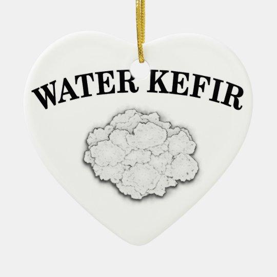 Water Kefir Grains Ceramic Ornament
