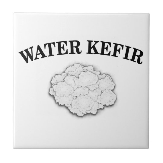 Water Kefir Grains Ceramic Tile
