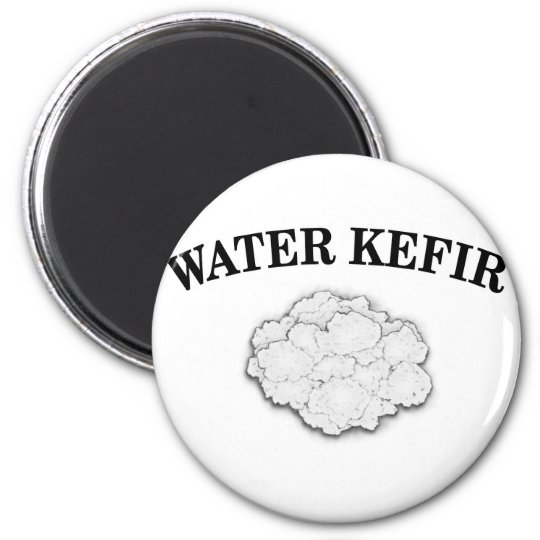 Water Kefir Grains Magnet
