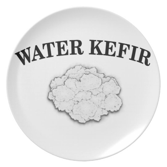 Water Kefir Grains Plate