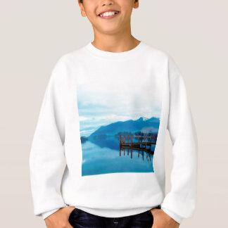 Water Lake Derwent Jetty Cumbria Sweatshirt