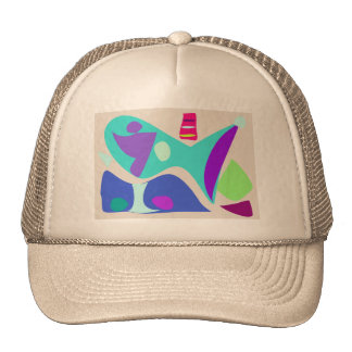 Water Land Trucker Hat