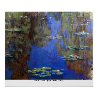 Water Lilies6_lg by Claude Monet Print
