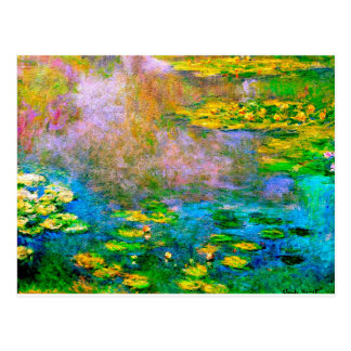 water-lilies-013 postcard