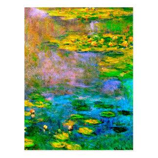 water-lilies-013 postcard