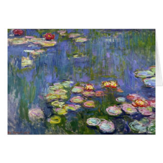 Water Lilies 10 Card