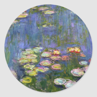 Water Lilies 10 Stickers