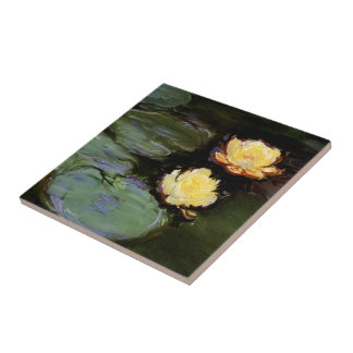 Water-Lilies: 1897-98 by Monet Tile
