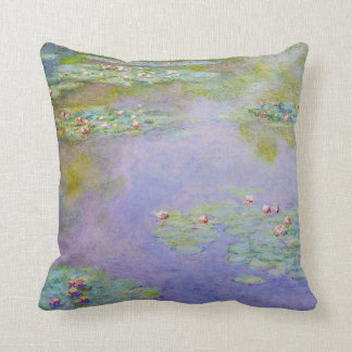 Water Lilies 1903 Claude Monet Fine Art Throw Cushion