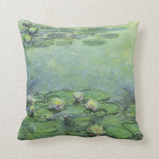 Water Lilies 1914 Claude Monet Fine Art Cushion