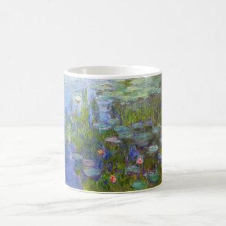 Water Lilies, 1915 Claude Monet cool, old, master, Coffee Mugs