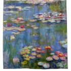 Water Lilies 1916 by Claude Monet Shower Curtain