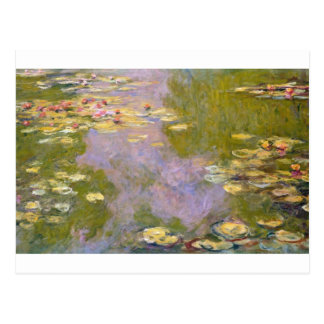 Water Lilies (1919) by Claude Monet Postcard