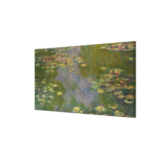 Water Lilies, 1919 Canvas Print
