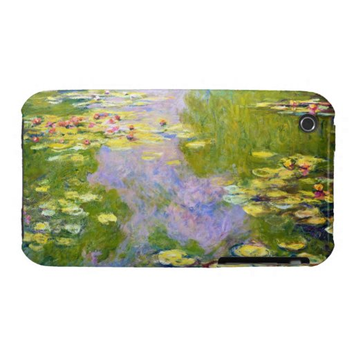 Water Lilies, 1919  Claude Monet iPhone 3 Cover