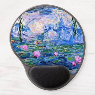 Water Lilies - 1919 Impressionism artwork Gel Mouse Pad