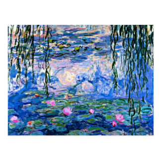 Water Lilies - 1919 Impressionism artwork Post Cards