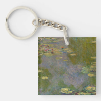 Water Lilies, 1919 Key Ring