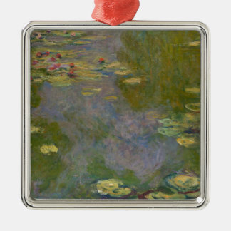 Water Lilies, 1919 Metal Ornament