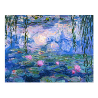 Water Lilies 1 Postcard