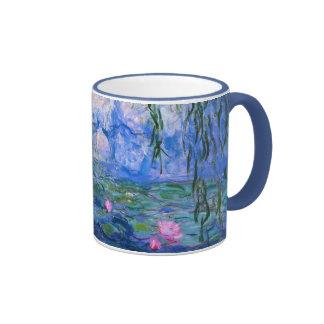 Water Lilies 1 Ringer Mug