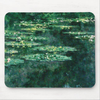 WATER LILIES 2 MOUSE PAD