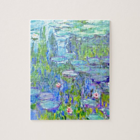 water-lilies-38 jigsaw puzzle