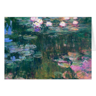Water Lilies 5 Card