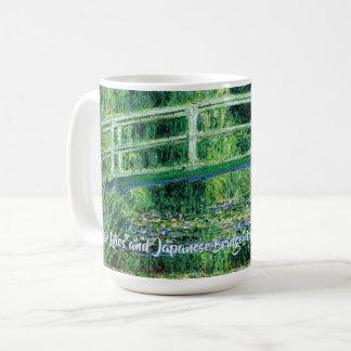Water Lilies and Japanese Bridge, Claude Monet Coffee Mug