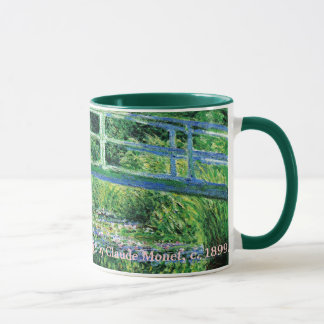 Water Lilies and Japanese Bridge, Claude Monet Mug