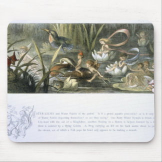 Water-Lilies and Water Fairies, illustration from Mouse Pad