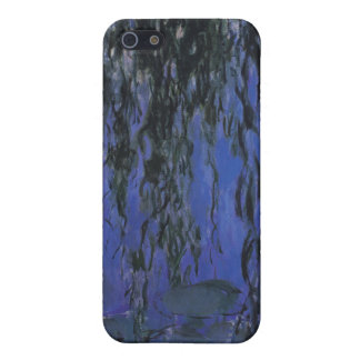 Water Lilies and Weeping Willow Branches - Monet iPhone 5 Case