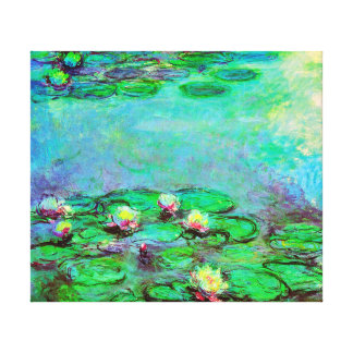 Water Lilies by Claude Monet Impressionism Canvas Print