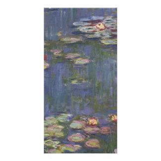 Water Lilies by Claude Monet Custom Photo Card
