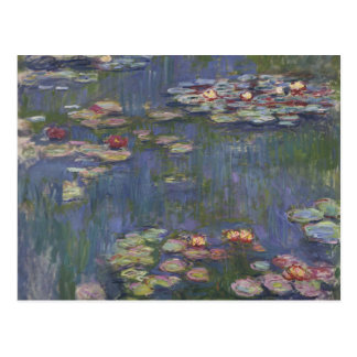 Water Lilies by Claude Monet Post Card