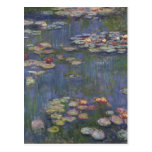Water Lilies by Claude Monet Postcard