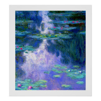Water Lilies by Claude Monet Posters