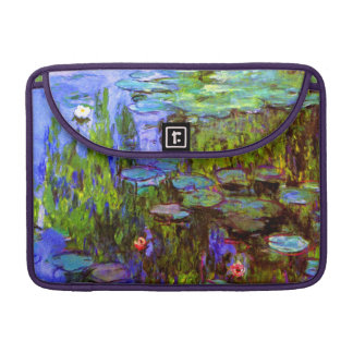 Water Lilies by Claude Monet Sleeve For MacBooks