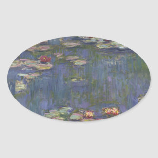 Water Lilies by Claude Monet Sticker