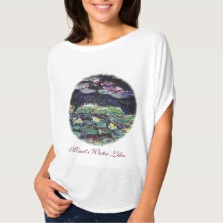 Water Lilies by Claude Monet T-Shirt