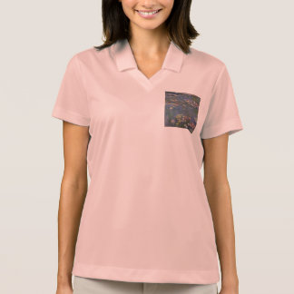 Water Lilies by Claude Monet Polo Shirts