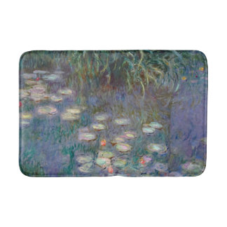 Water Lilies by Monet Bath Mats