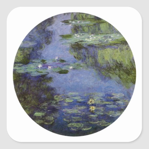 Water-Lilies by Monet Stickers