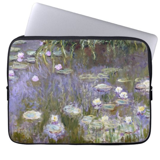 Water Lilies (c.1922) by Claude Monet Laptop Sleeve