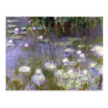 Water Lilies (c.1922) by Claude Monet Postcard