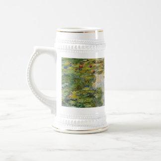 Water Lilies - Claude Monet Beer Stein