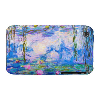 Water Lilies Claude Monet iPhone 3 Case-Mate Cases