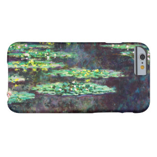 Water Lilies Claude Monet cool, old, master, maste Barely There iPhone 6 Case